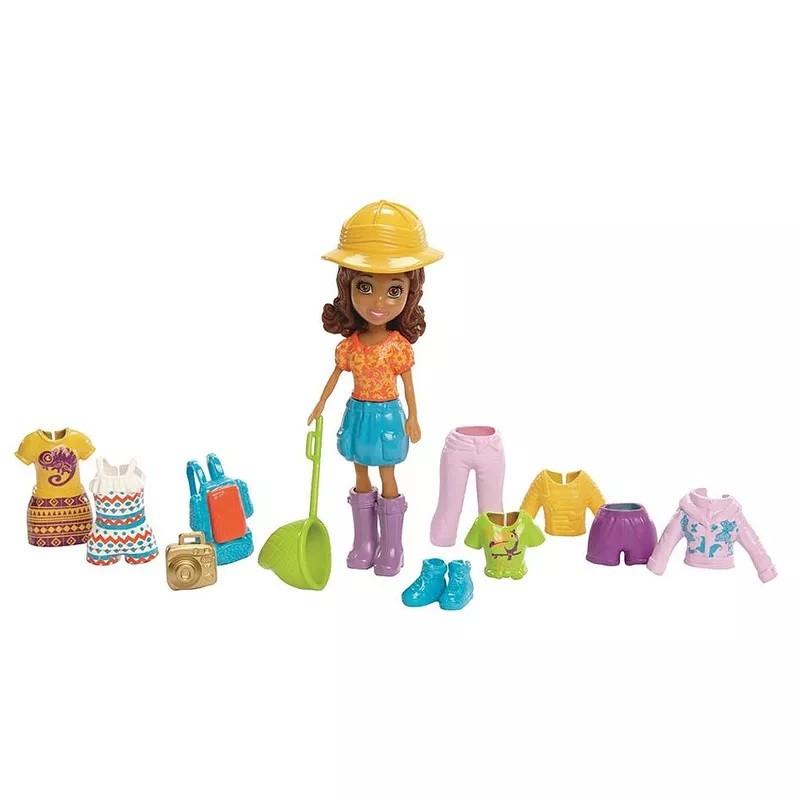 Boneca Polly Pocket Aventura na Amazônia - Mattel