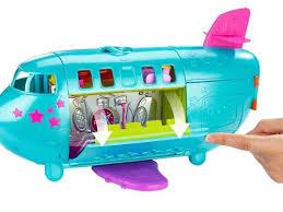 Boneca Polly Pocket Avião Turnê da Polly - Mattel