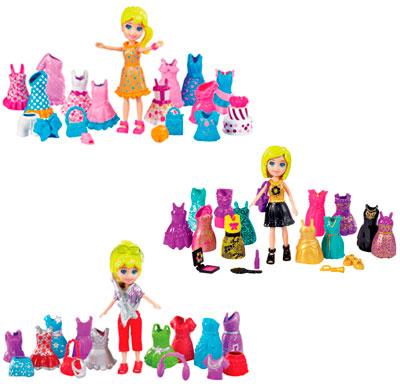 Boneca Polly Pocket Looks Especiais - Mattel