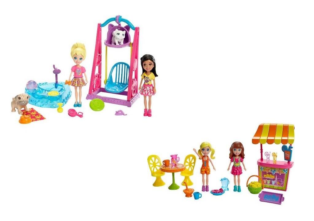 Boneca Polly Pocket - Brincando com Bichinhos/ Limonada Divertida - Mattel