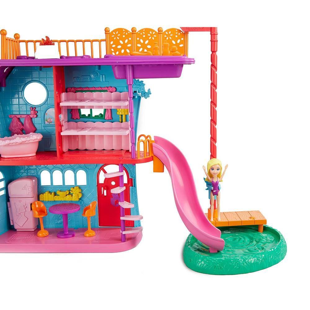 Boneca Polly Pocket Casa de Férias da Polly - Mattel