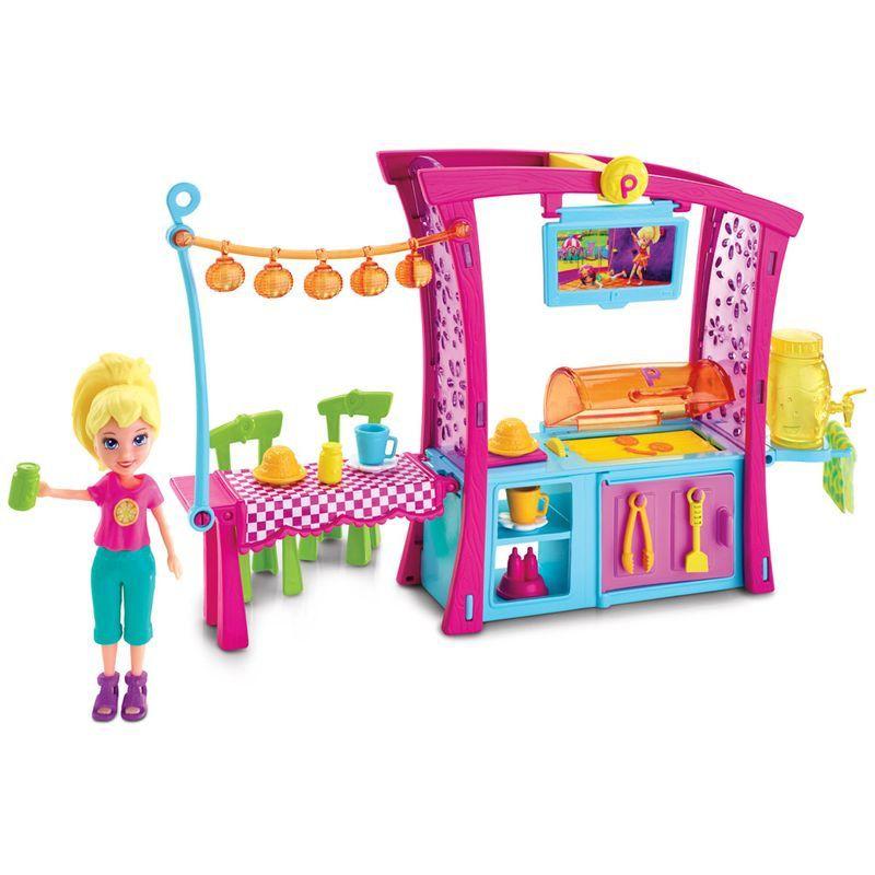 Boneca Polly Pocket Churrasco Divertido da Polly - Mattel