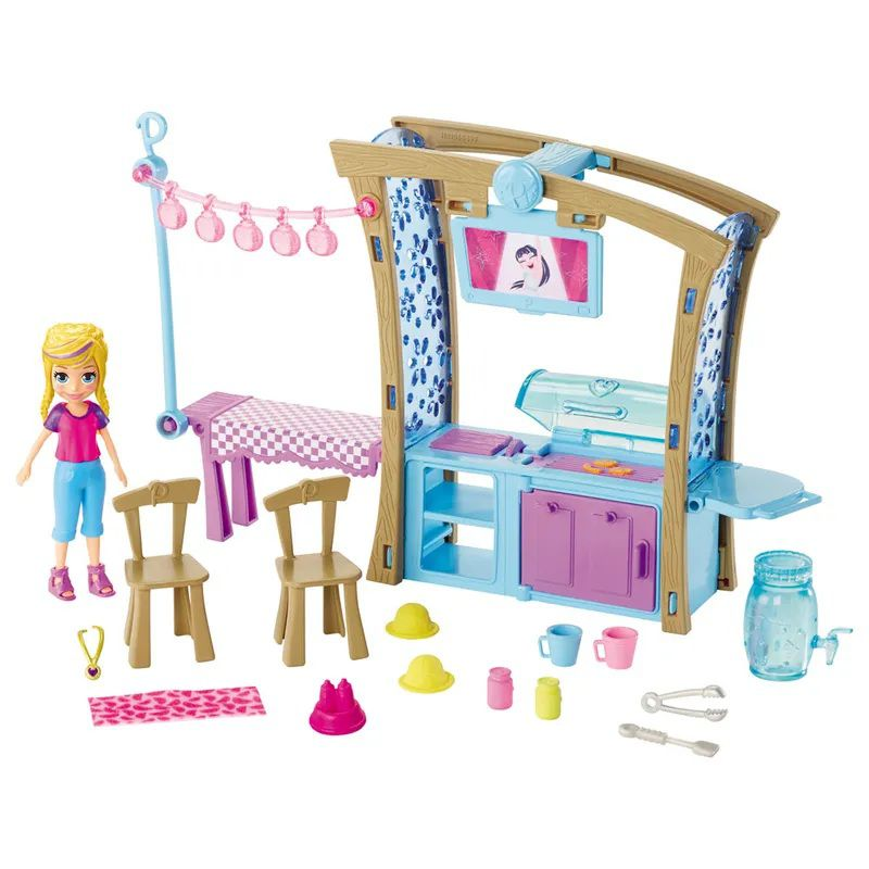 Boneca Polly Pocket Churrasco Divertido - Mattel