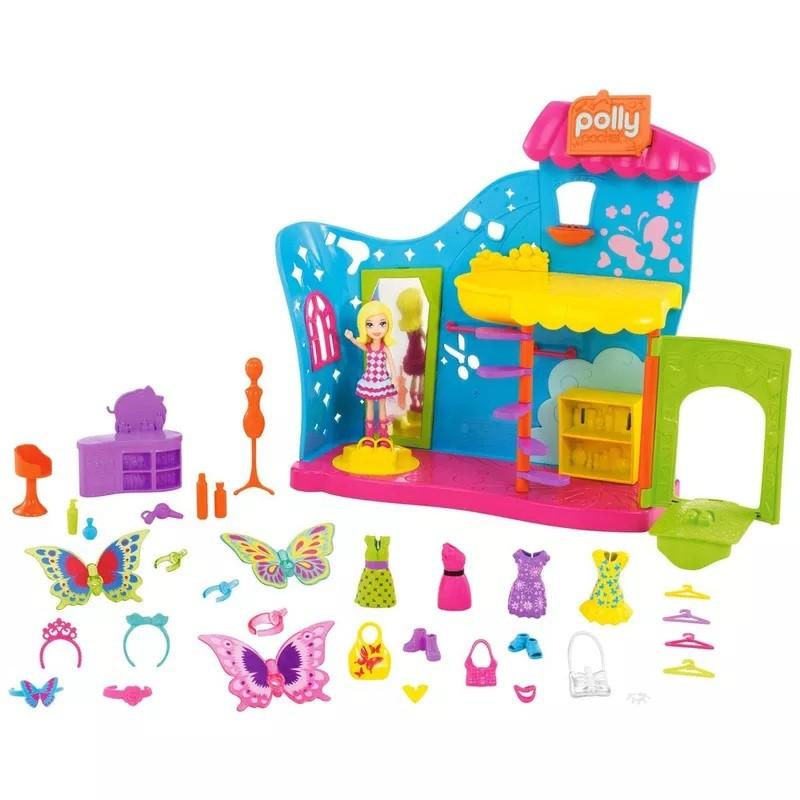 Boneca Polly Pocket Fantasias de Borboleta - Mattel