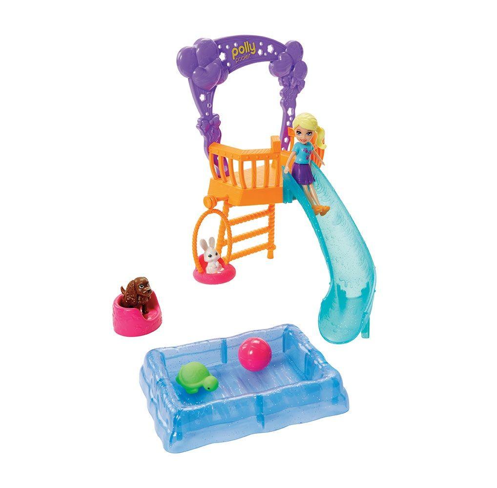 Boneca Polly Pocket Festa no Jardim com Bichinhos - Mattel