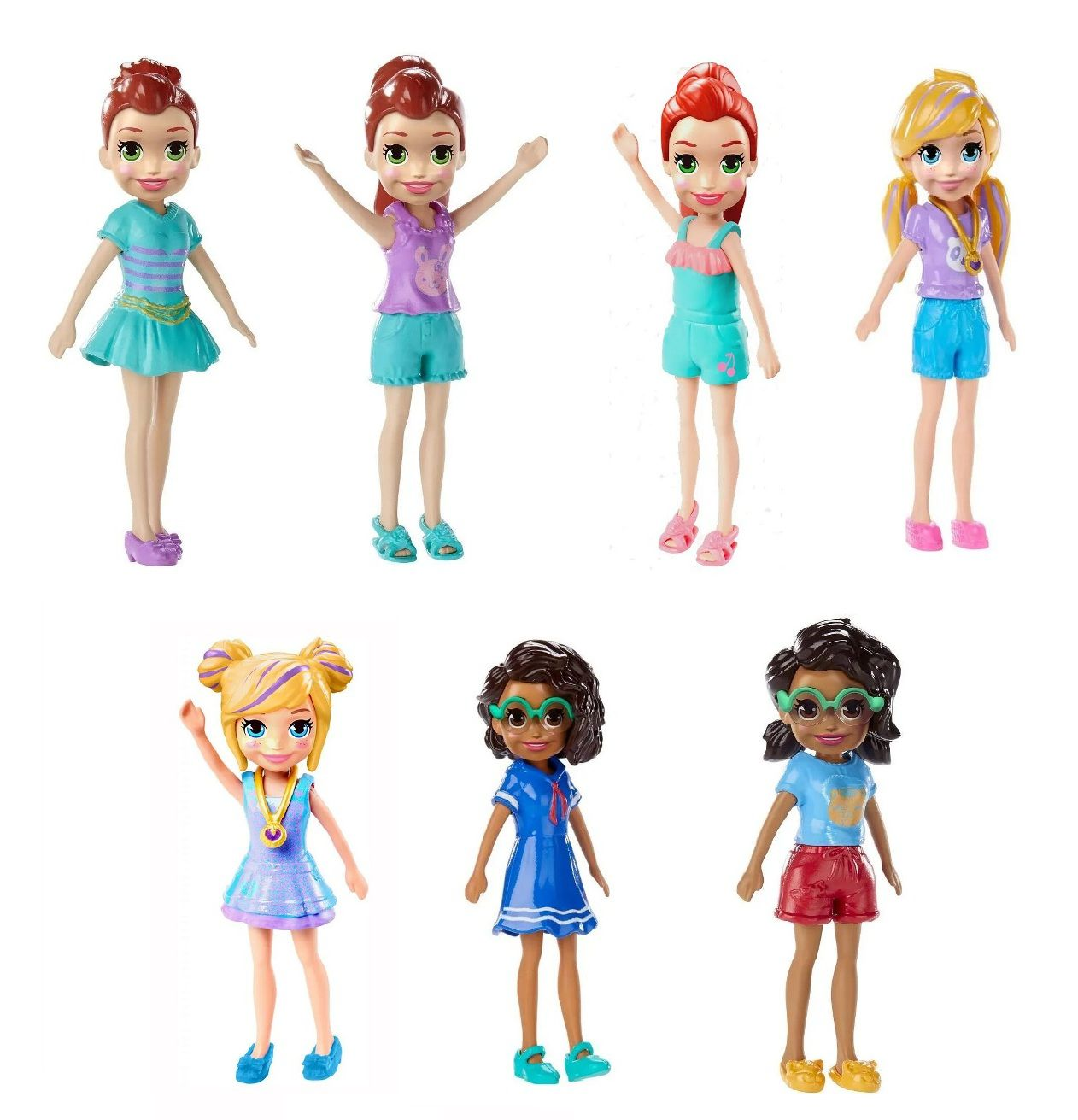 Boneca Polly Pocket Happy Hour - Mattel