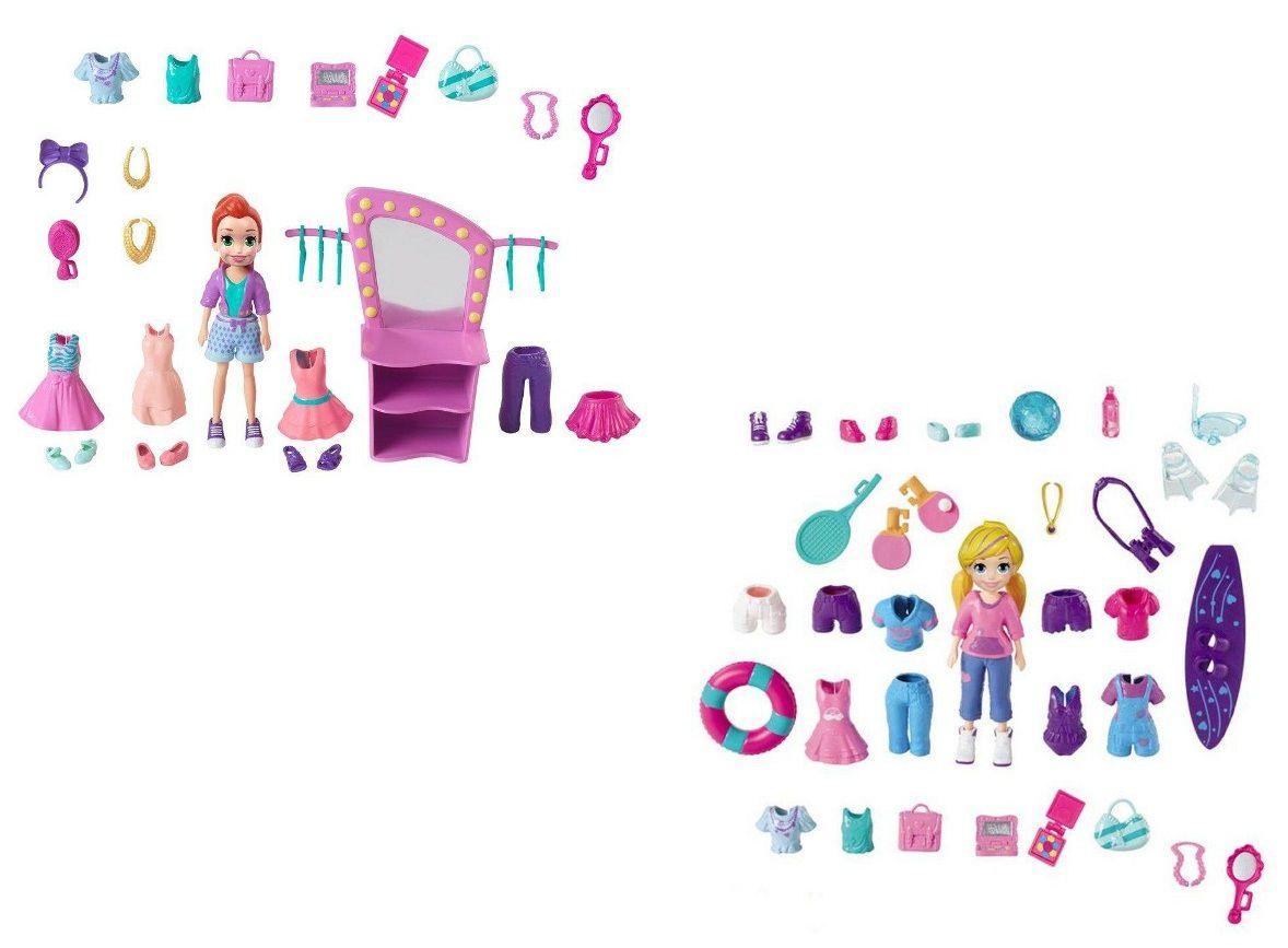 Boneca Polly Pocket Kit de Acessórios - Mattel