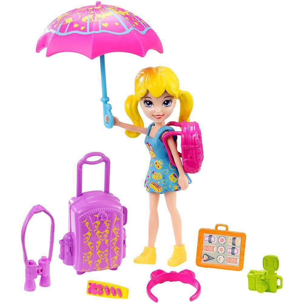 Boneca Polly Pocket Passeio no Japão - Mattel