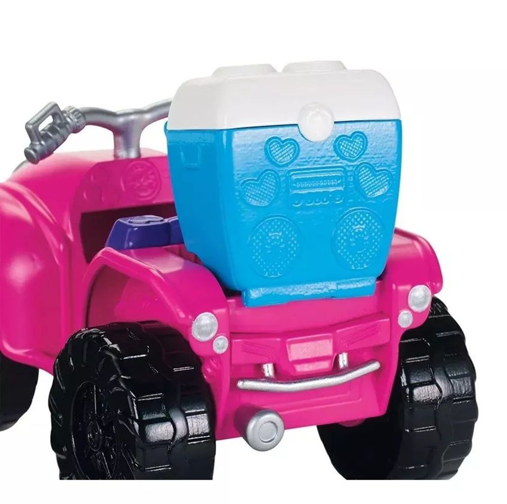 Boneca Polly Pocket Quadriciclo Fabuloso - Mattel