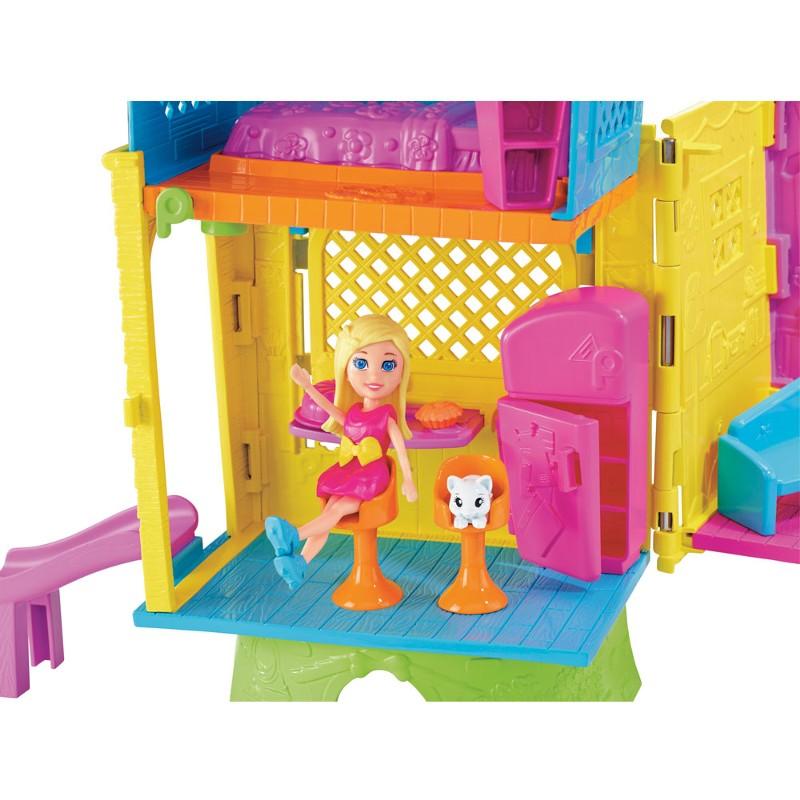 Boneca Polly Pocket Super Clubhouse - Mattel