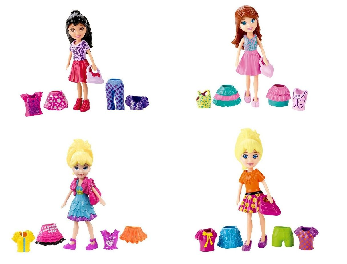 Boneca Polly Pocket Super Fashion - Mattel