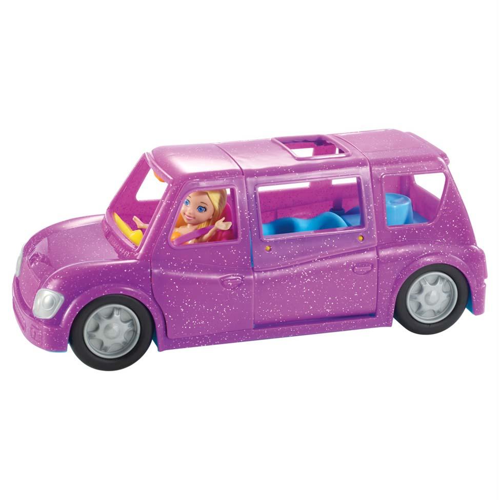 Boneca Polly Pocket Limosine Fashion - Mattel