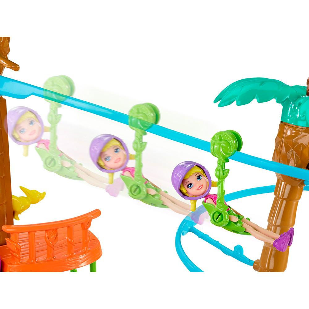 Boneca Polly Pocket Tirolesa na Floresta - Mattel