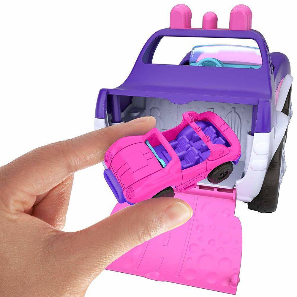 Boneca Polly Pocket Veículo de Utilidade Secreta - Mattel