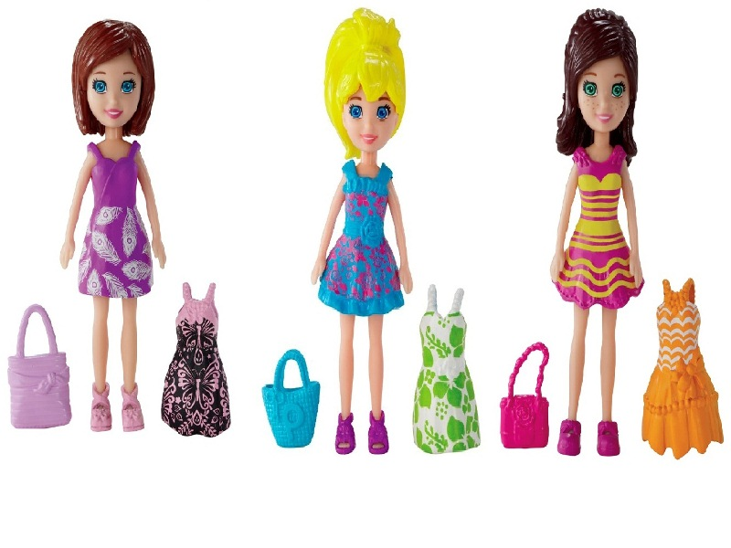 Boneca Polly Pocket Vestidiho - Mattel