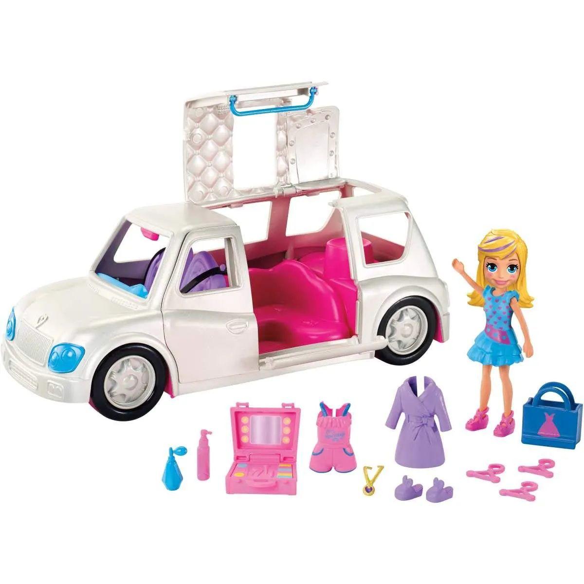 Boneca Polly Pocket Limousine de Luxo - Mattel