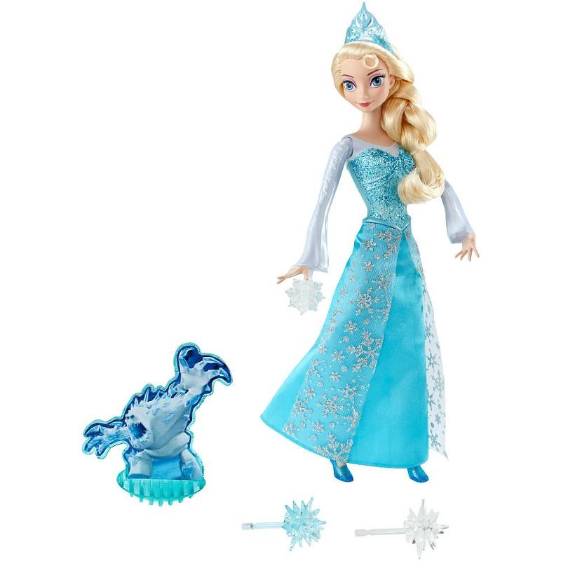 Boneca Princesa Elsa em Ação Disney Frozen - Mattel
