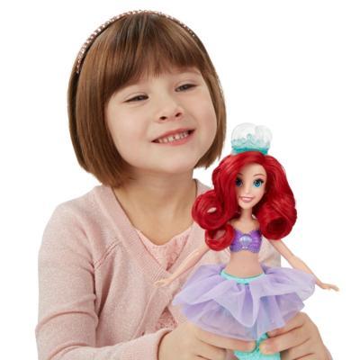Boneca Princesas Disney Bolhas Mágicas Ariel - Hasbro