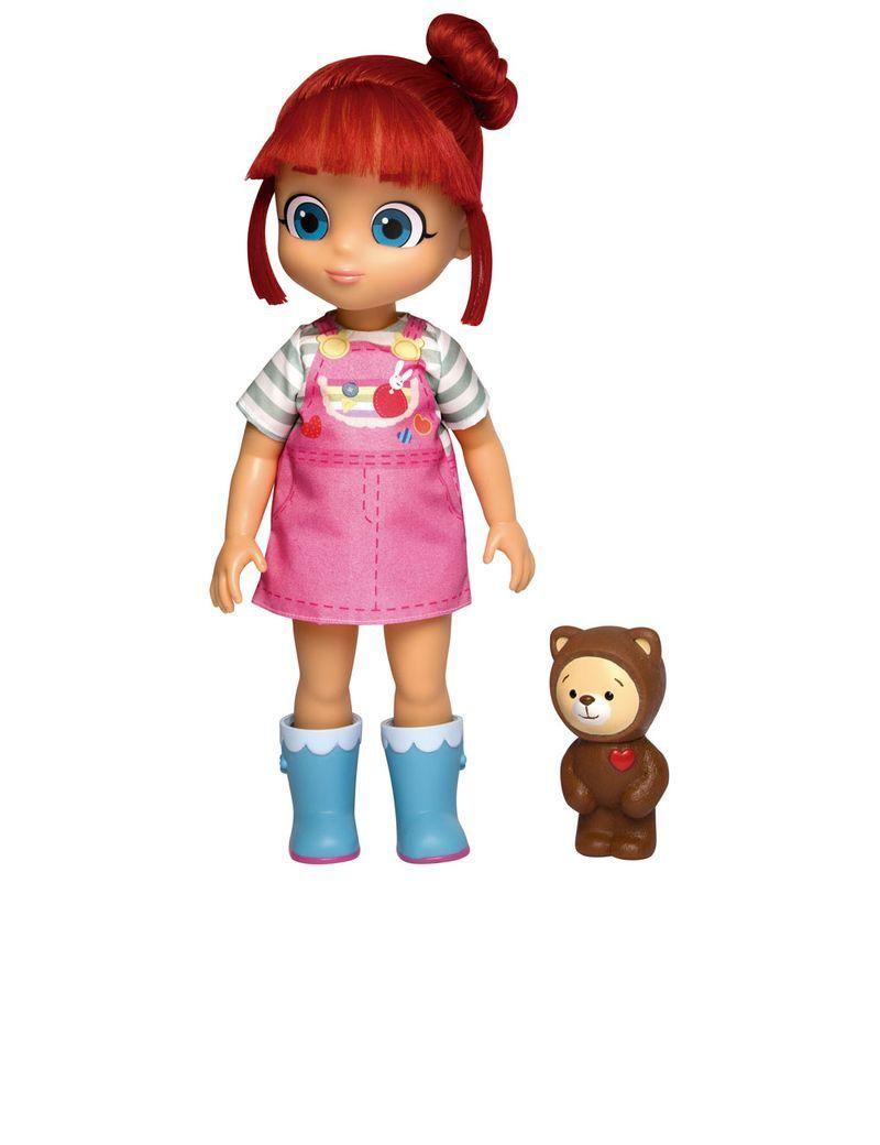 Boneca Rainbow Ruby e Urso Choco - Baby Brink