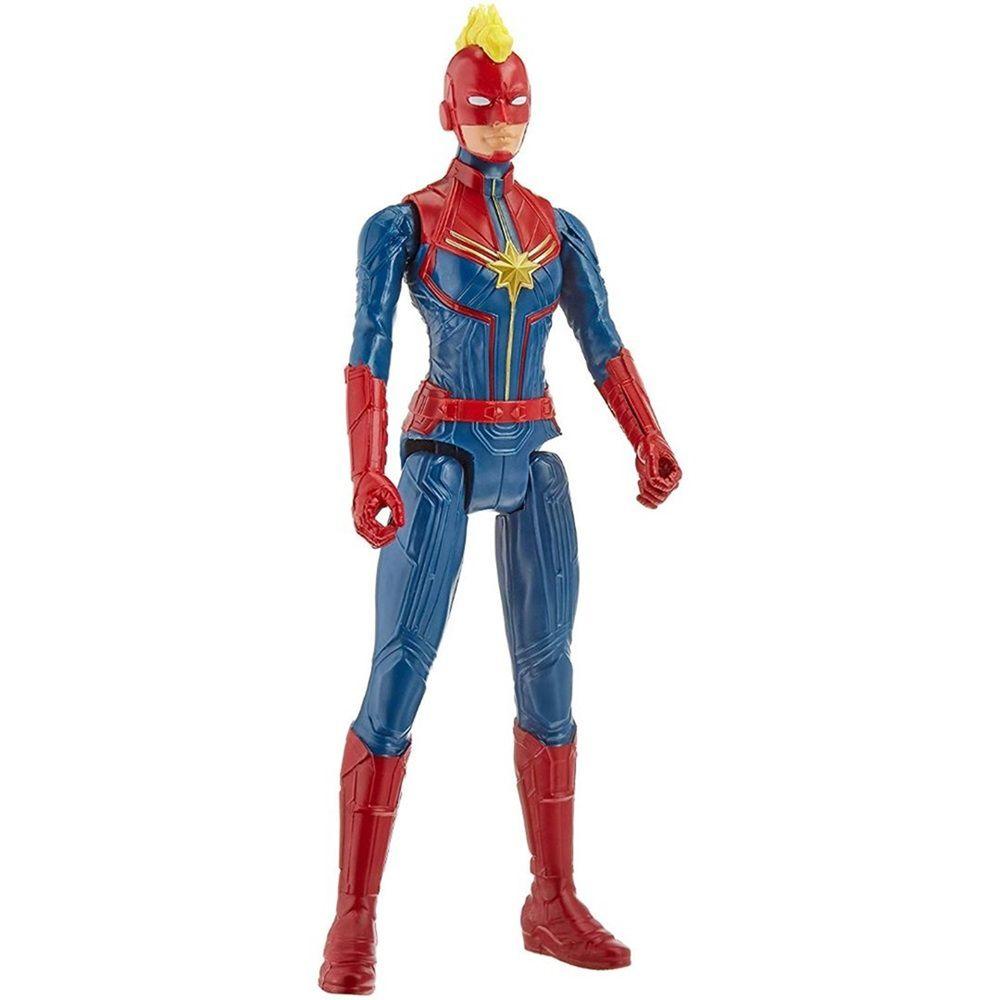 Boneca Titan Hero Series Blast Gear Marvel Vingadores Capitã América - Hasbro