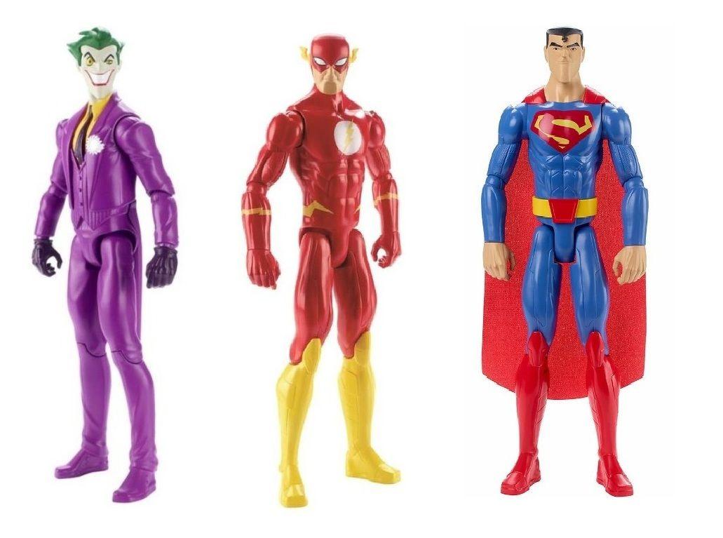 Boneco Articulado Liga da Justiça Action - Mattel