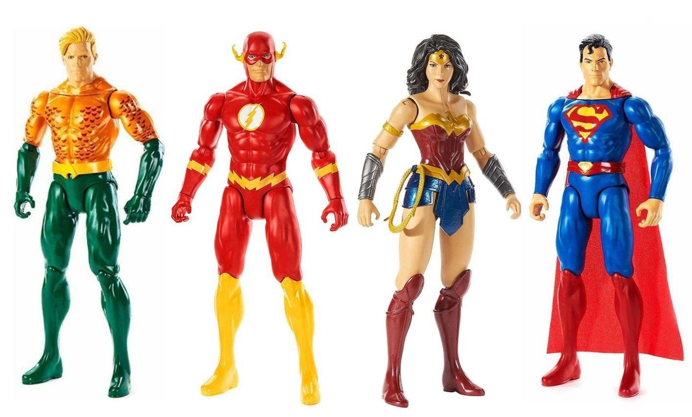 Boneco Articulado Liga da Justiça DC Verdadeiros Movimentos - Mattel