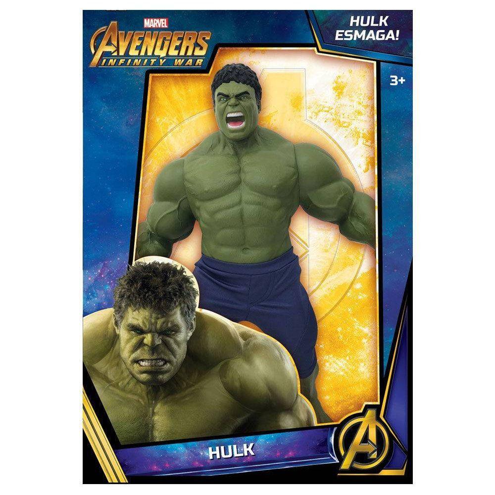 Boneco Articulado Marvel Os Vingadores Guerra Infinita Hulk Grande - MIMO