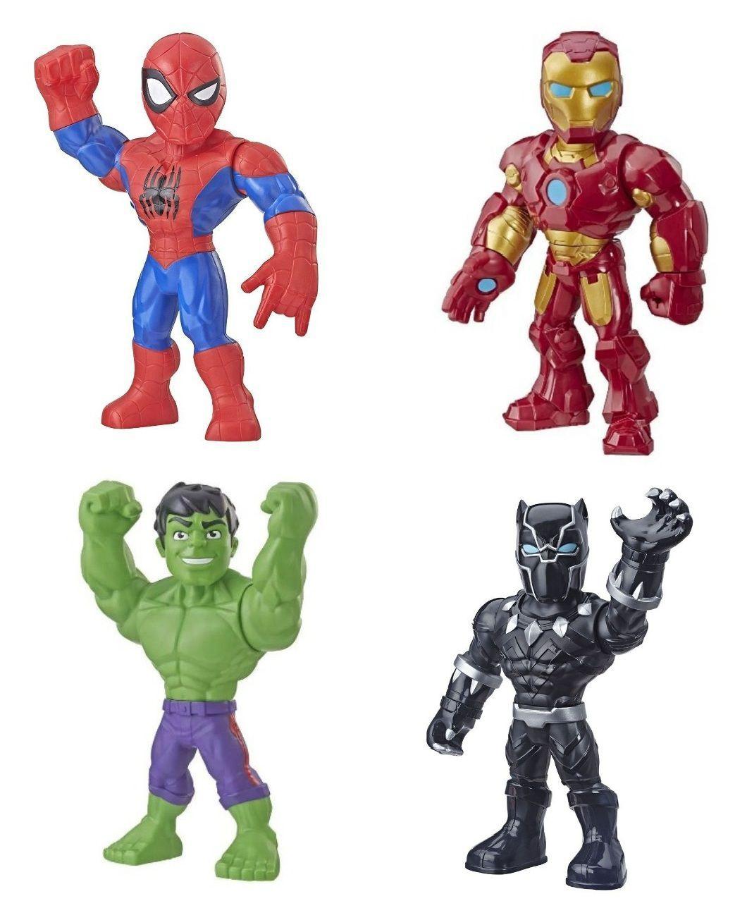 Boneco Articulado Marvel Super Hero Adventures Mega Mighties - Hasbro