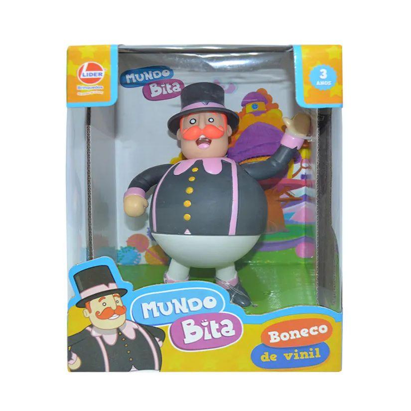 Boneco Articulado Mundo Bita em Vinil - Lider Brinquedos