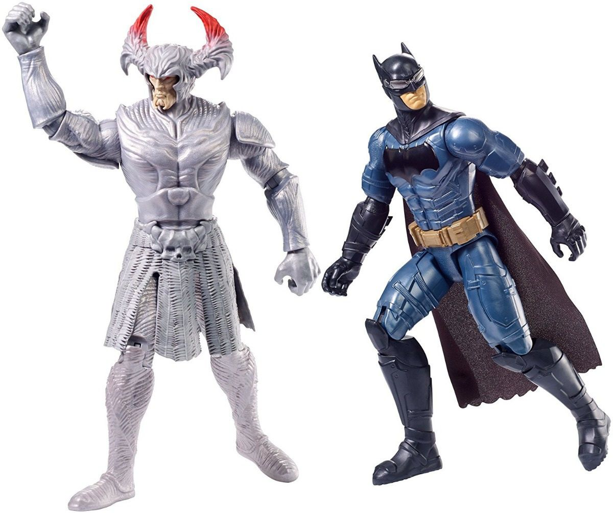 Boneco Batman e Steppenwolf Justice League - Mattel