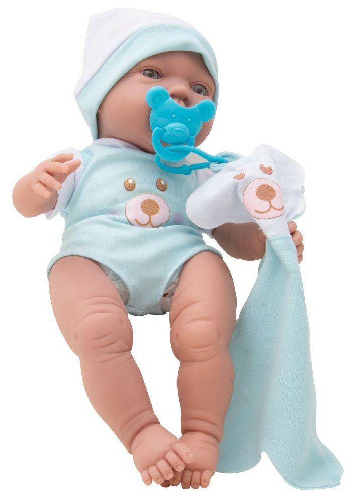 Boneco Bebezinho Real com Cheirinho e Chupeta - Roma Brinquedos