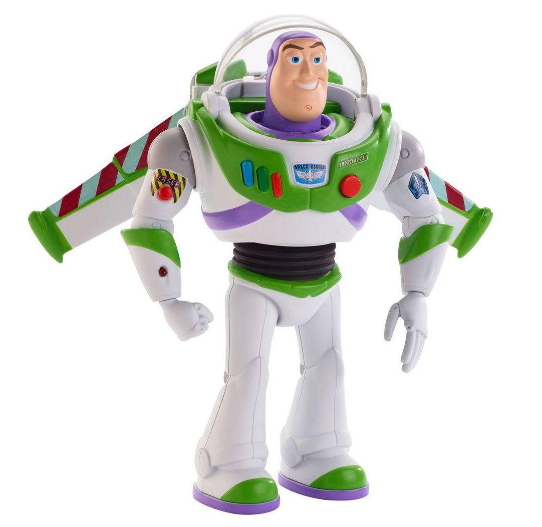 Boneco Buzz Lightyear Movimentos Reais Disney Pixar Toy Story 4 - Mattel