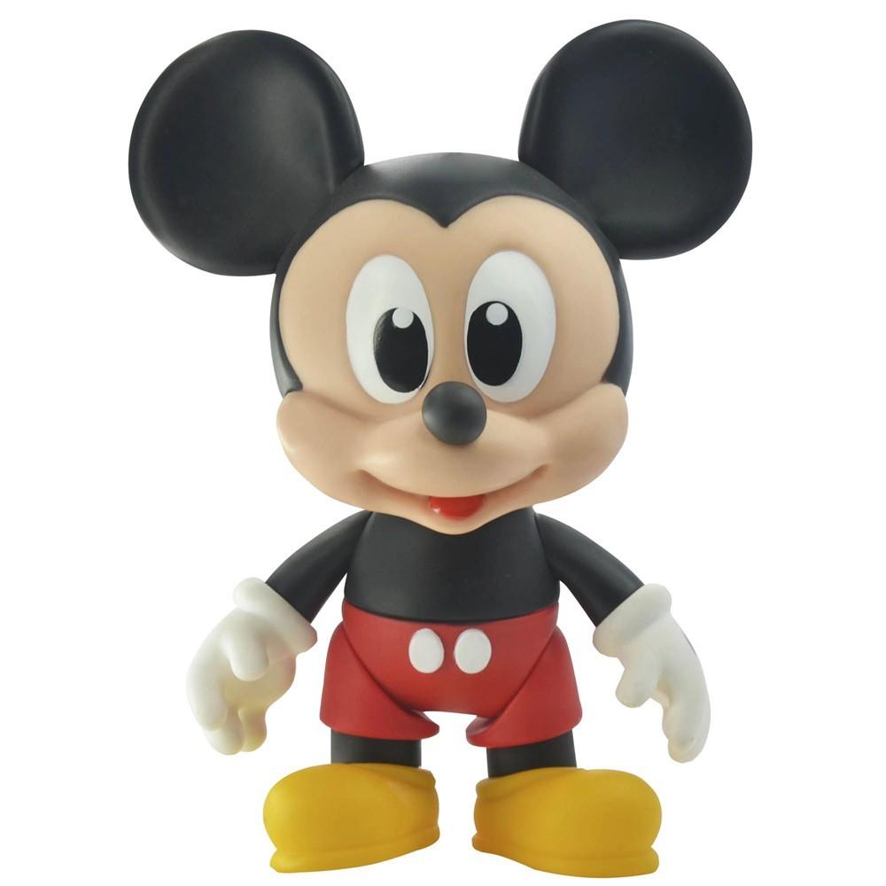 Boneco de Vinil Disney Junior Mickey Mouse Articulado - Lider Brinquedos