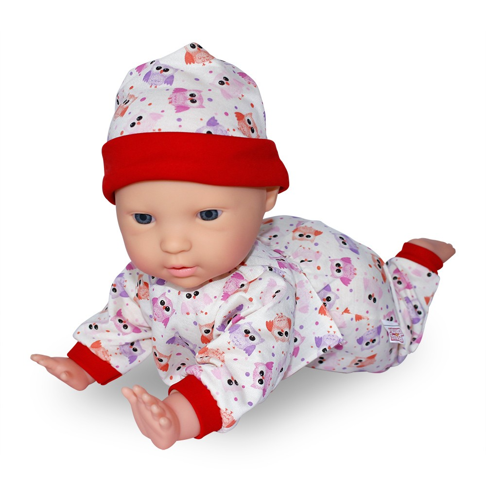 Boneco Dudu Engatinha - Baby Brink