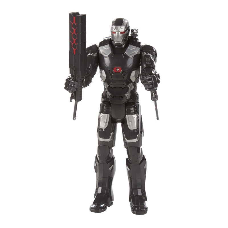 Boneco Eletrônico Titan Hero Series Marvel Capitão América Guerra Civil Máquina de Guerra - Hasbro