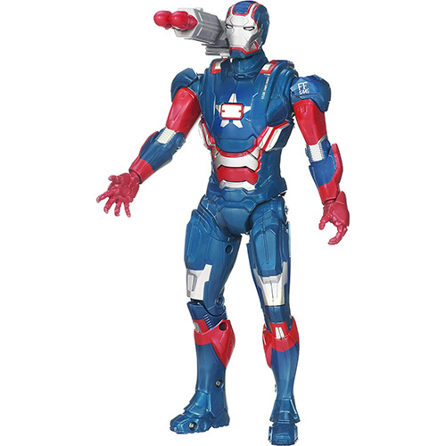 Boneco Homem de Ferro 3 Arc Strike Iron Patriot - Hasbro