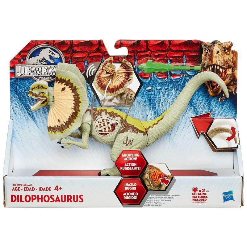 Dinossauro Jurassic World Dino Com Luz Dilophosaurus - Hasbro