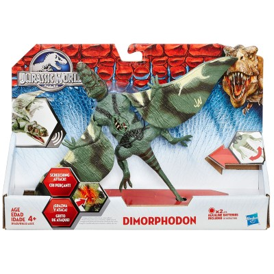 Dinossauro Jurassic World Dino Com Luz Dimorphodon - Hasbro