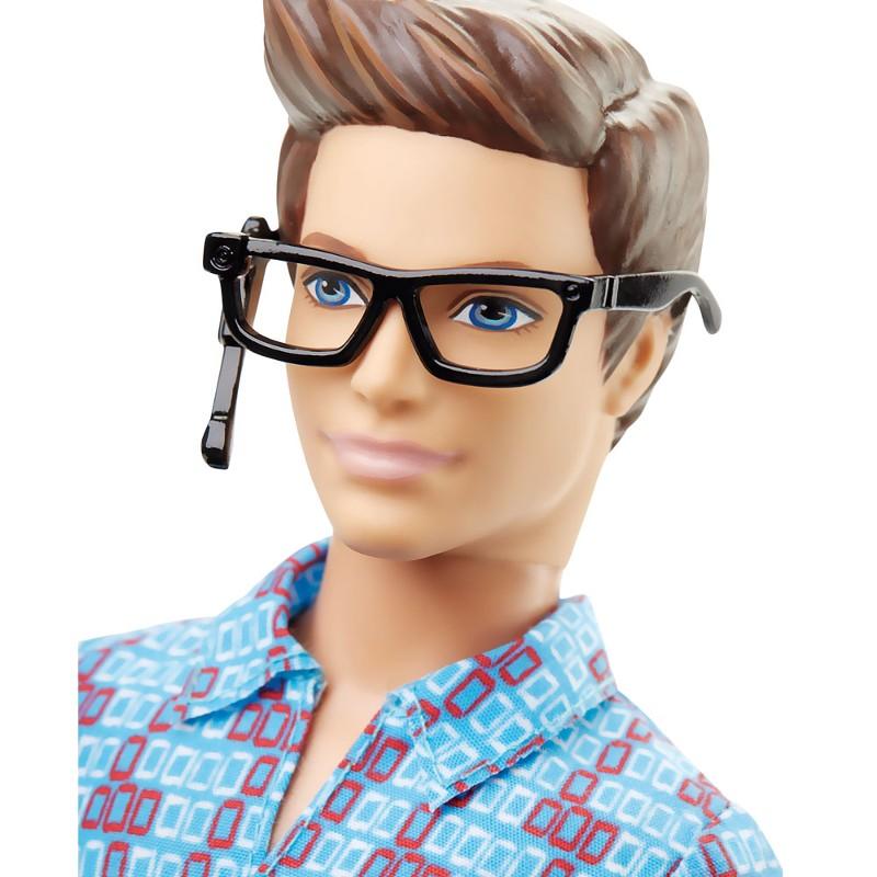 Boneco Ken Barbie e As Agentes Secretas Ken Inventor - Mattel