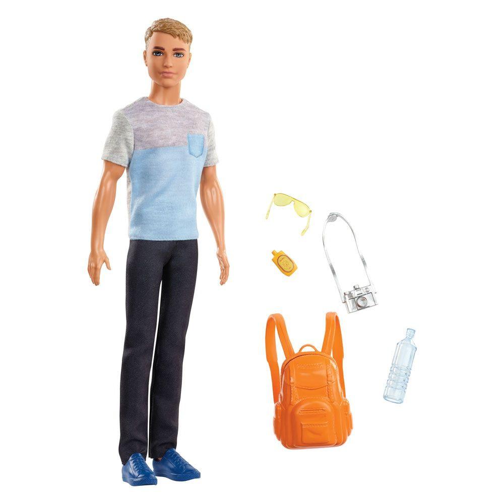Boneco Ken Explorar e Descobrir - Mattel