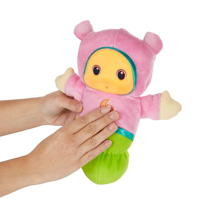 Boneco Lullaby Gloworm Rosa Playskool - Hasbro