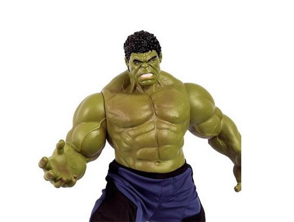 ... Boneco Marvel Avengers Age Of Ultron Initiative Hulk Grande - MIMO -  Descalshop ... 5abe18cb522