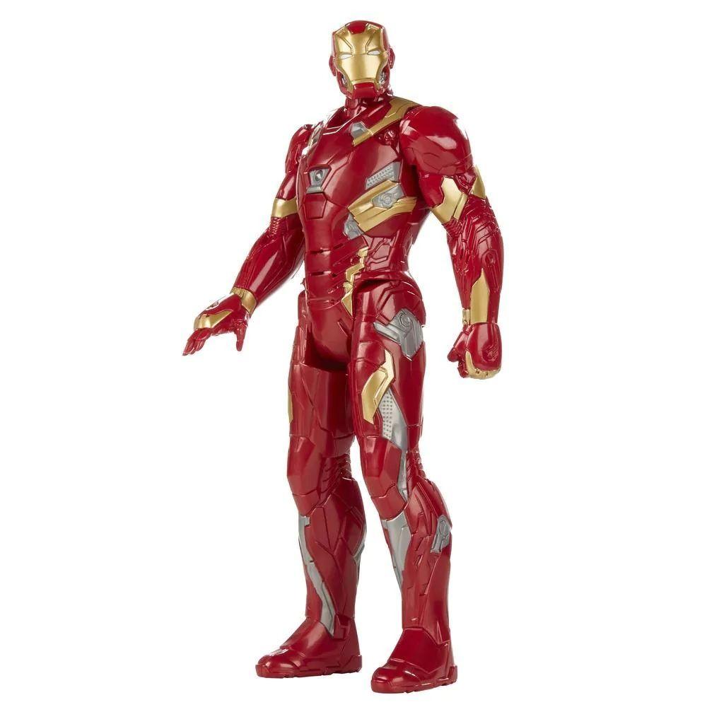 Boneco Marvel Captain America Civil War Iron Man Titan Hero Series - Hasbro