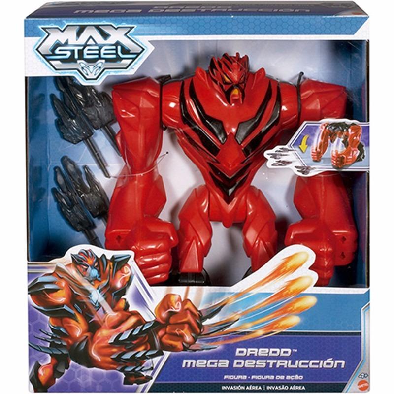 Boneco Max Steel Dredd Mega Destrucción - Mattel