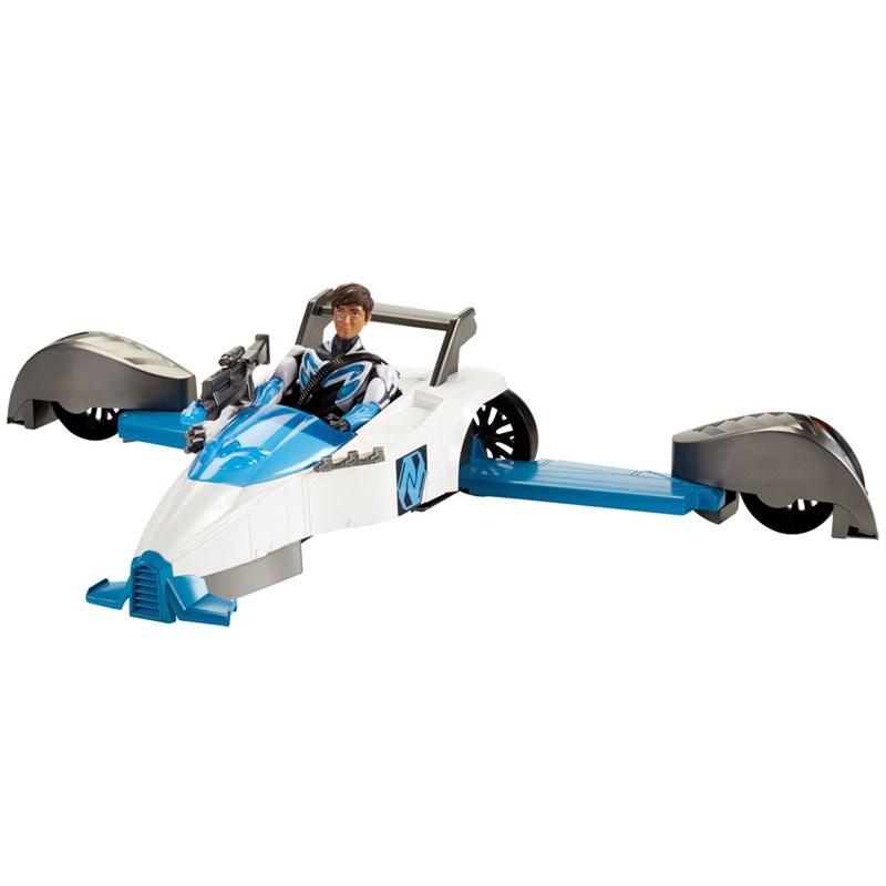 Boneco Max Steel e Veículo Transformação Turbo - Mattel