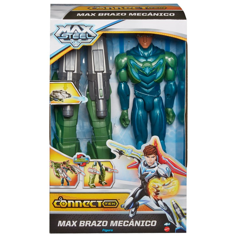 Boneco Max Steel Max Máquina de Ataque - Mattel