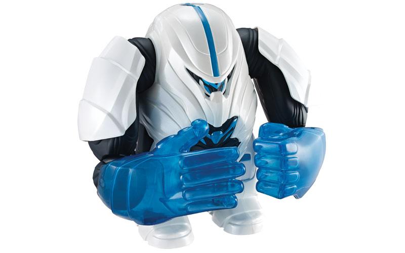 Boneco Max Steel Max Turbo Mega Força - Mattel