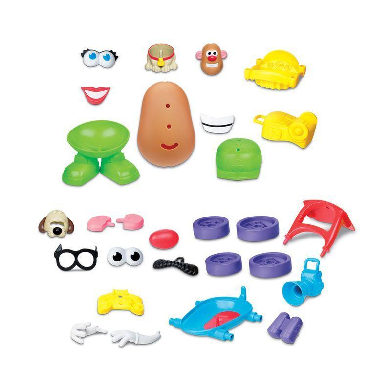 Boneco Mr Potato Head Playskool com Veículo Maluco - Hasbro