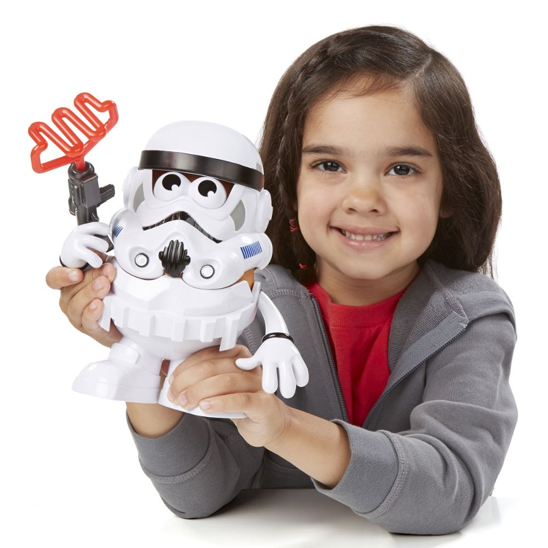 Boneco Mr. Potato Head Star Wars Clássico Spudtrooper - Hasbro