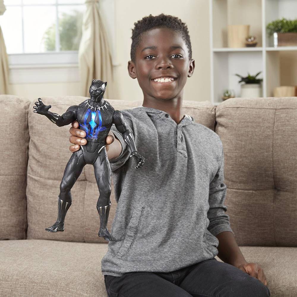 Boneco Pantera Negra Ataque com Garras - Hasbro